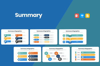 Summary Infographics-PowerPoint Template, Keynote Template, Google Slides Template PPT Infographics -Slidequest