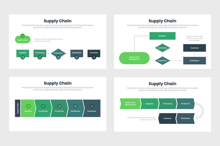 Supply Chain-PowerPoint Template, Keynote Template, Google Slides Template PPT Infographics -Slidequest