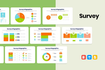 Survey Infographics-PowerPoint Template, Keynote Template, Google Slides Template PPT Infographics -Slidequest