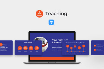 Teaching Education Keynote Template-PowerPoint Template, Keynote Template, Google Slides Template PPT Infographics -Slidequest