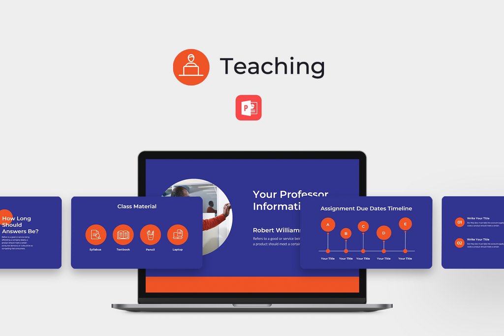 Teaching Education PowerPoint Template