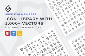 Vector Icons Library-PowerPoint Template, Keynote Template, Google Slides Template PPT Infographics -Slidequest