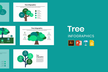 Tree Infographics-PowerPoint Template, Keynote Template, Google Slides Template PPT Infographics -Slidequest