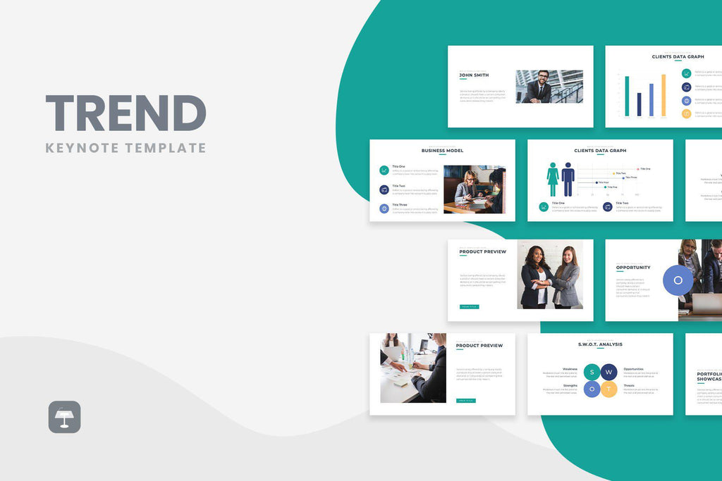 Trend Business Keynote Template