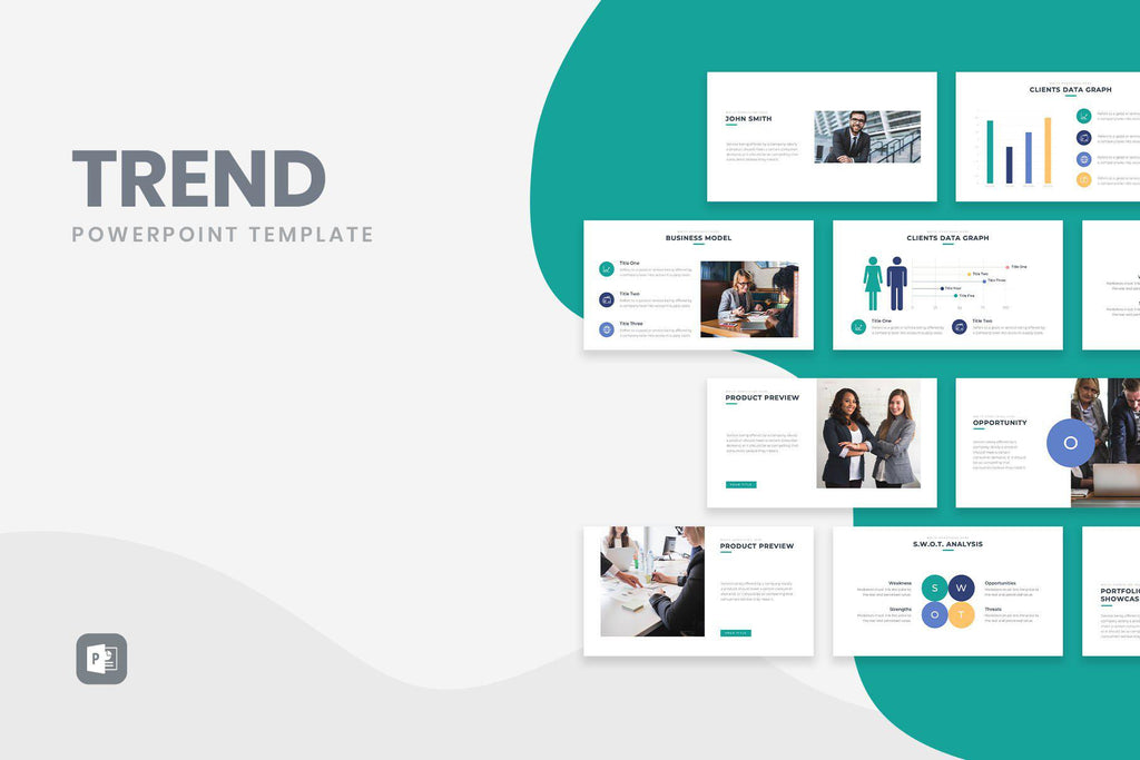 trend business powerpoint template  u2013 slidequest