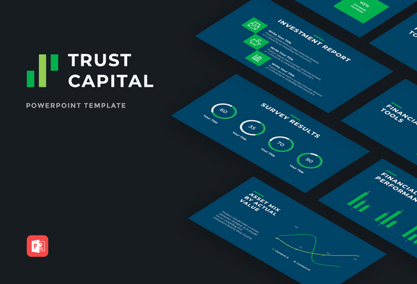 Trust Capital Finance PowerPoint Template