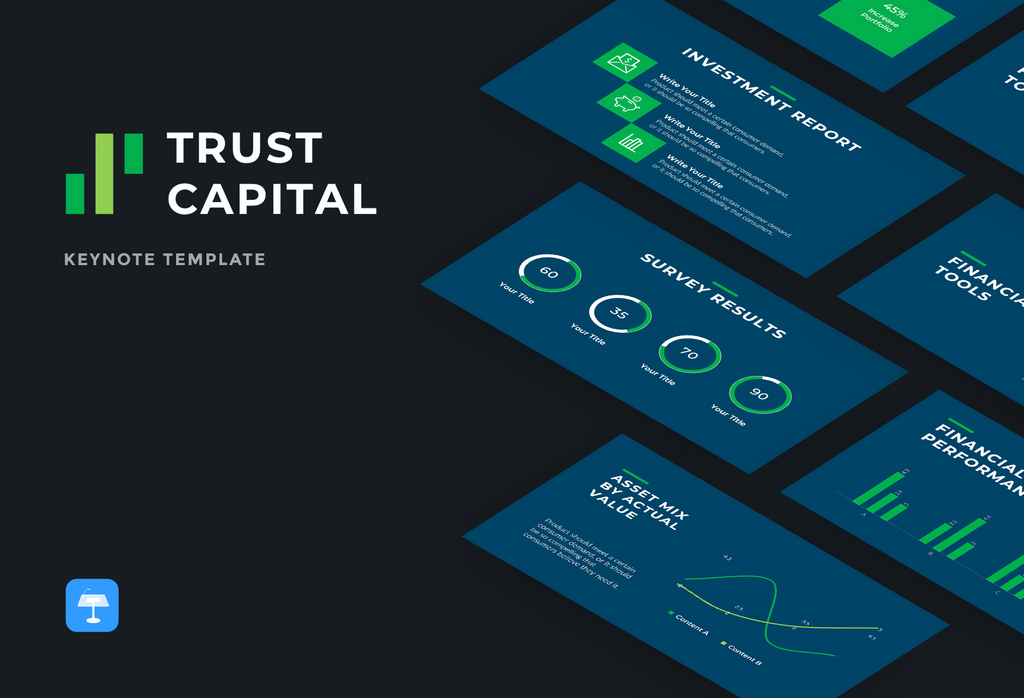 Trust Capital Finance Keynote Template