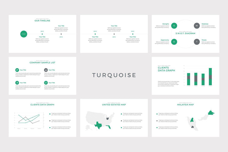 Element Business Keynote Template - TheSlideQuest