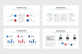 US Elections-PowerPoint Template, Keynote Template, Google Slides Template PPT Infographics -Slidequest