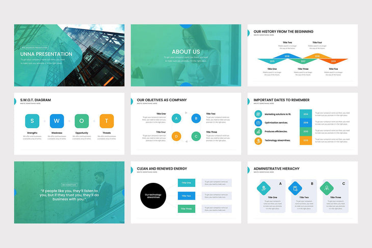 ONE PowerPoint Template - TheSlideQuest