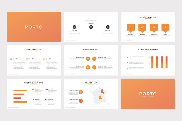 Porto Business PowerPoint Template-PowerPoint Template, Keynote Template, Google Slides Template PPT Infographics -Slidequest