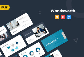 Wandsworth Free Presentation Template-PowerPoint Template, Keynote Template, Google Slides Template PPT Infographics -Slidequest