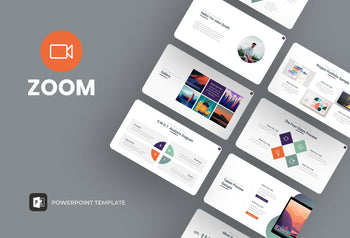 Zoom Webinar PowerPoint Template