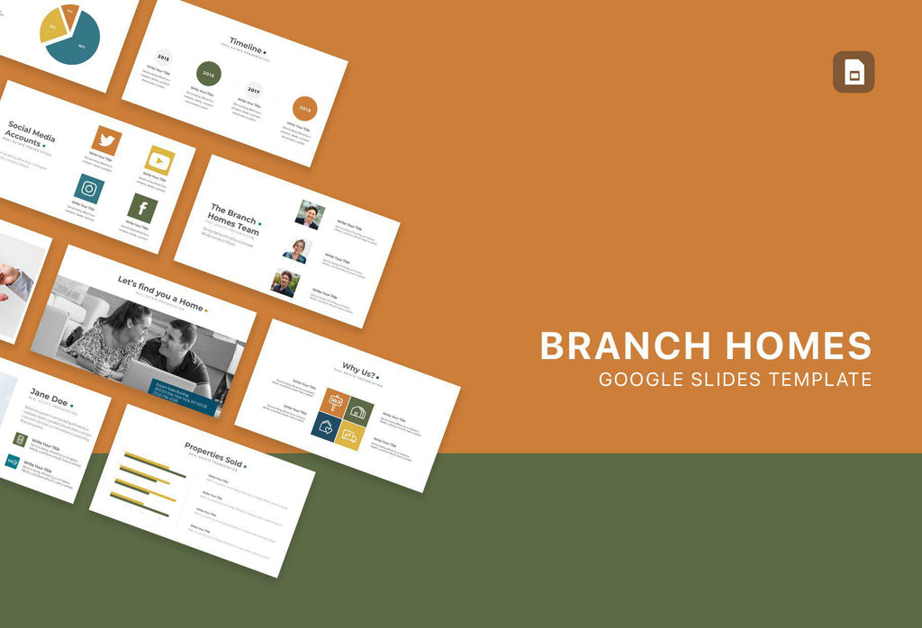 Branch Homes Real Estate Google Slides