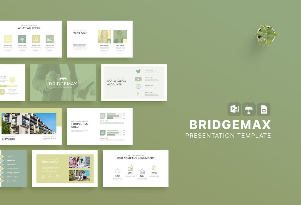 Bridgemax Real Estate Keynote Template