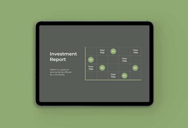 Financial Group Finance Keynote Template