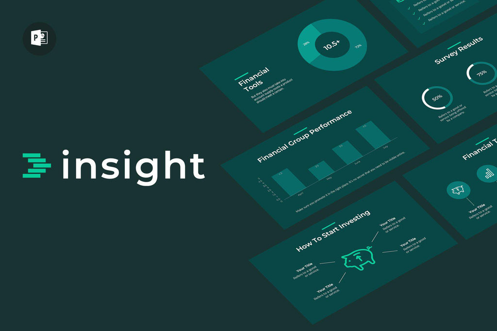 Insight Finance PowerPoint Template