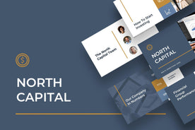North Capital Finance PowerPoint Template-PowerPoint Template, Keynote Template, Google Slides Template PPT Infographics -Slidequest