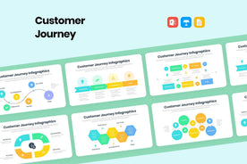 Customer Journey Infographics-PowerPoint Template, Keynote Template, Google Slides Template PPT Infographics -Slidequest