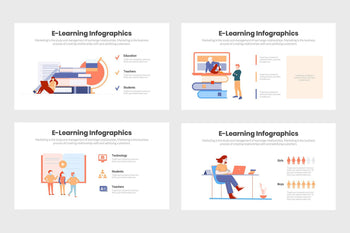 eLearning Infographics Template