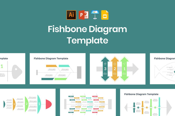 Cause And Effect Fishbone Diagram Template Slidequest