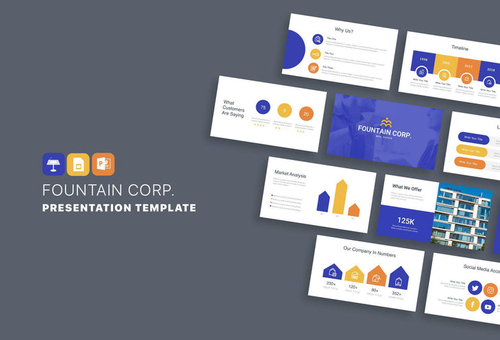 SWIFT Real Estate Presentation Templates Bundle