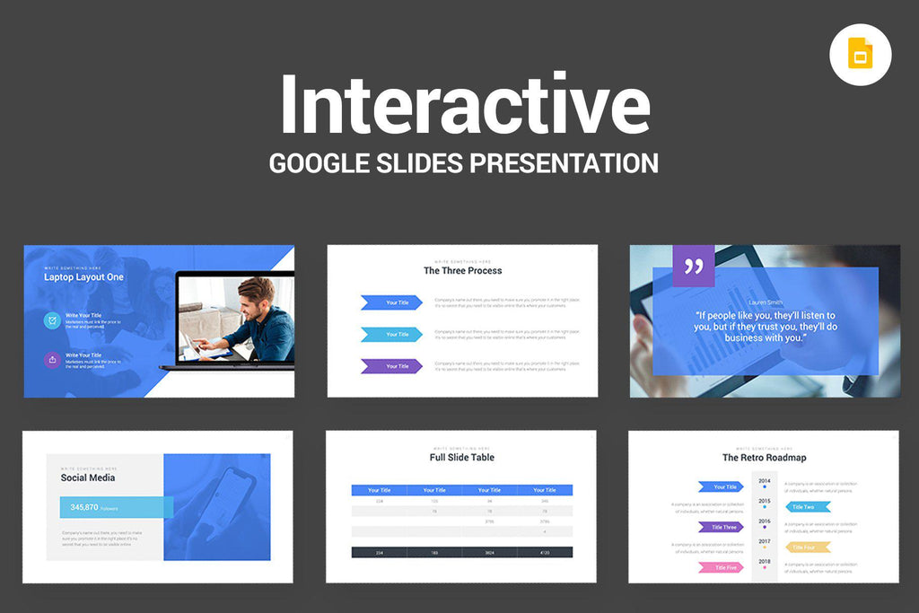 Interactive Webinar Google Slides