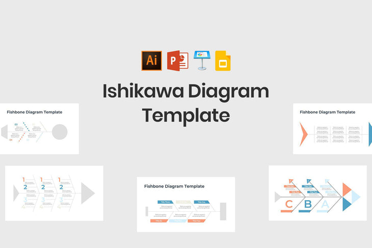 Ishikawa Diagram Template - TheSlideQuest