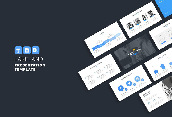 Lakeland Real Estate PowerPoint Template-PowerPoint Template, Keynote Template, Google Slides Template PPT Infographics -Slidequest