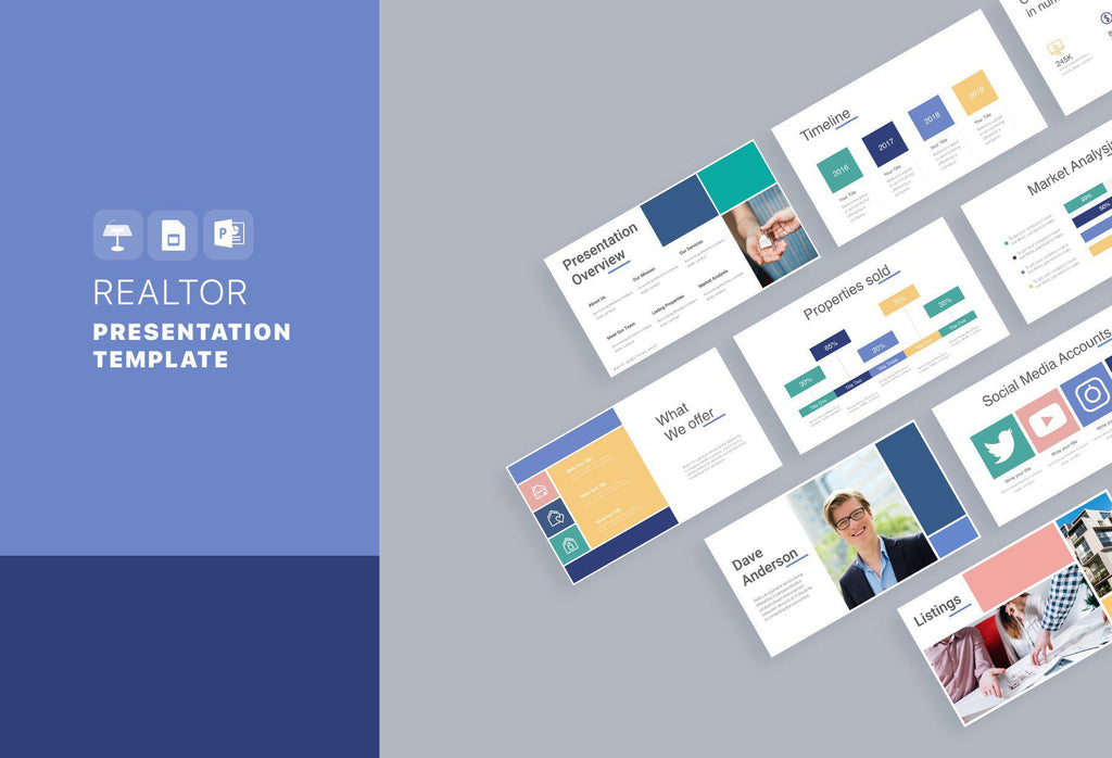 Realtor Real Estate Keynote Template