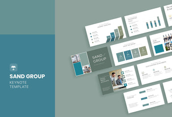 Sand Group Real Estate Keynote Template