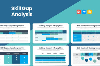 Skill Gap Analysis Infographics