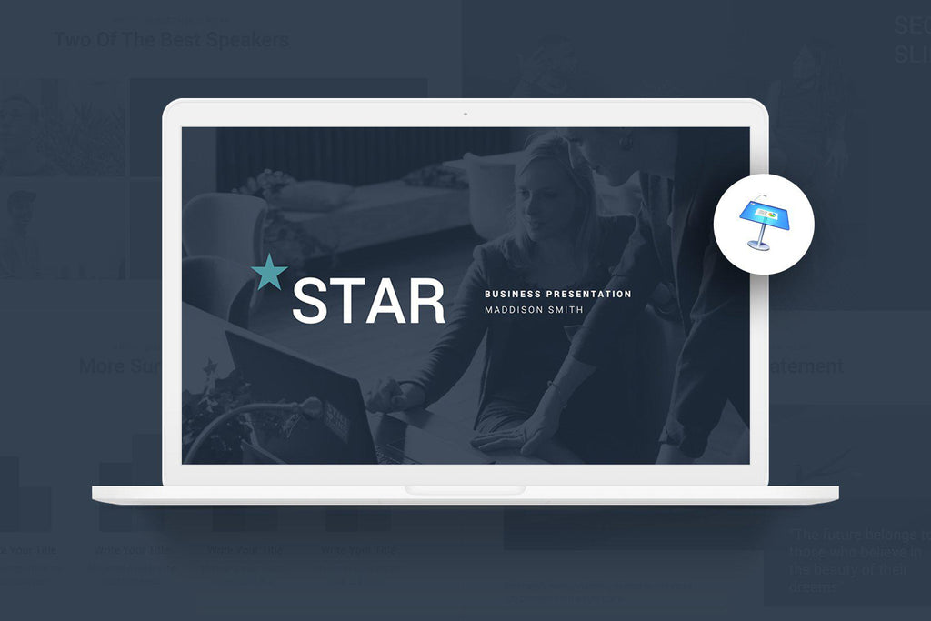 Star Webinar Keynote Template