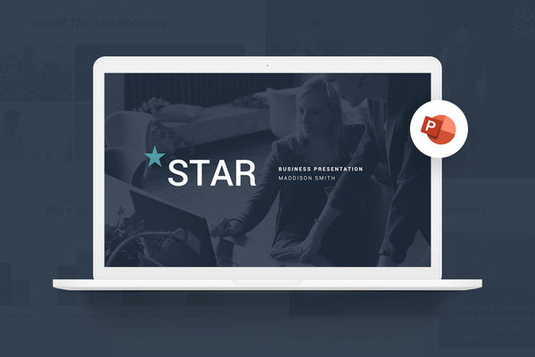 Star Webinar PowerPoint Template