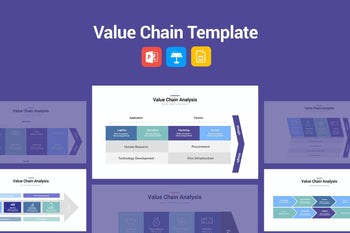Value Chain Template-PowerPoint Template, Keynote Template, Google Slides Template PPT Infographics -Slidequest