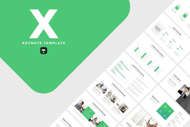 X Keynote Template-PowerPoint Template, Keynote Template, Google Slides Template PPT Infographics -Slidequest