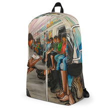 Load image into Gallery viewer, Train Ride Backpack
