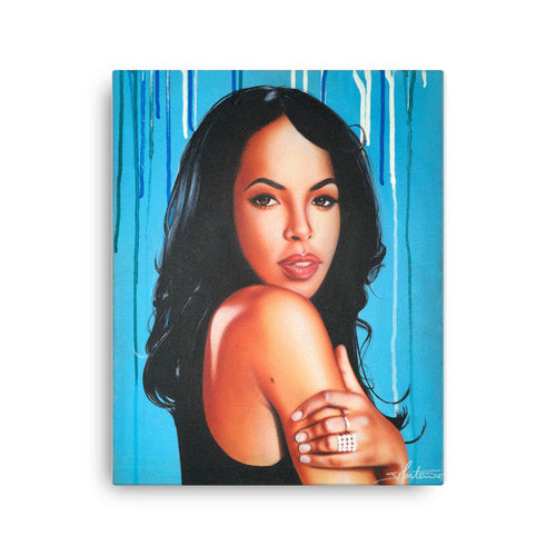 Aaliyah Canvas