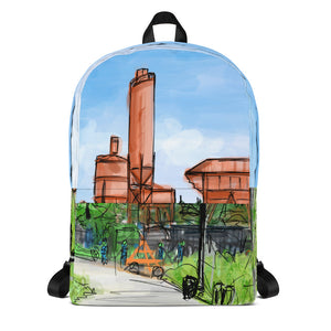 Concrete Plant Backpack