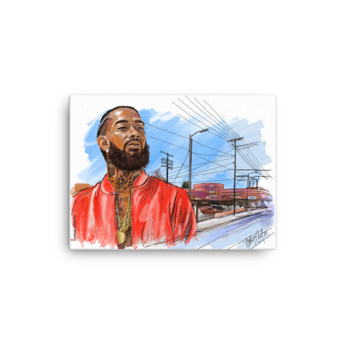 Nipsey Hussle Canvas