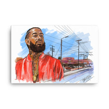 Load image into Gallery viewer, Nipsey Hussle Canvas
