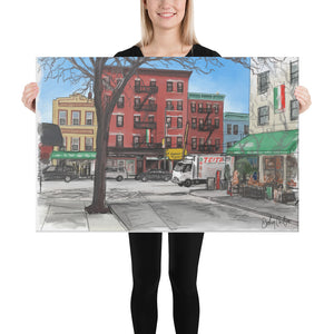 Arthur Ave Canvas