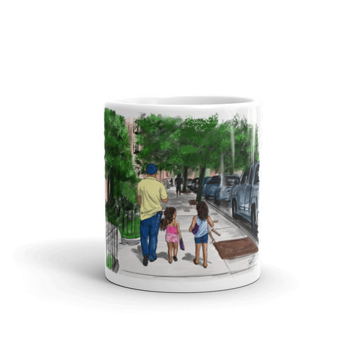 Dad & Girls Mug