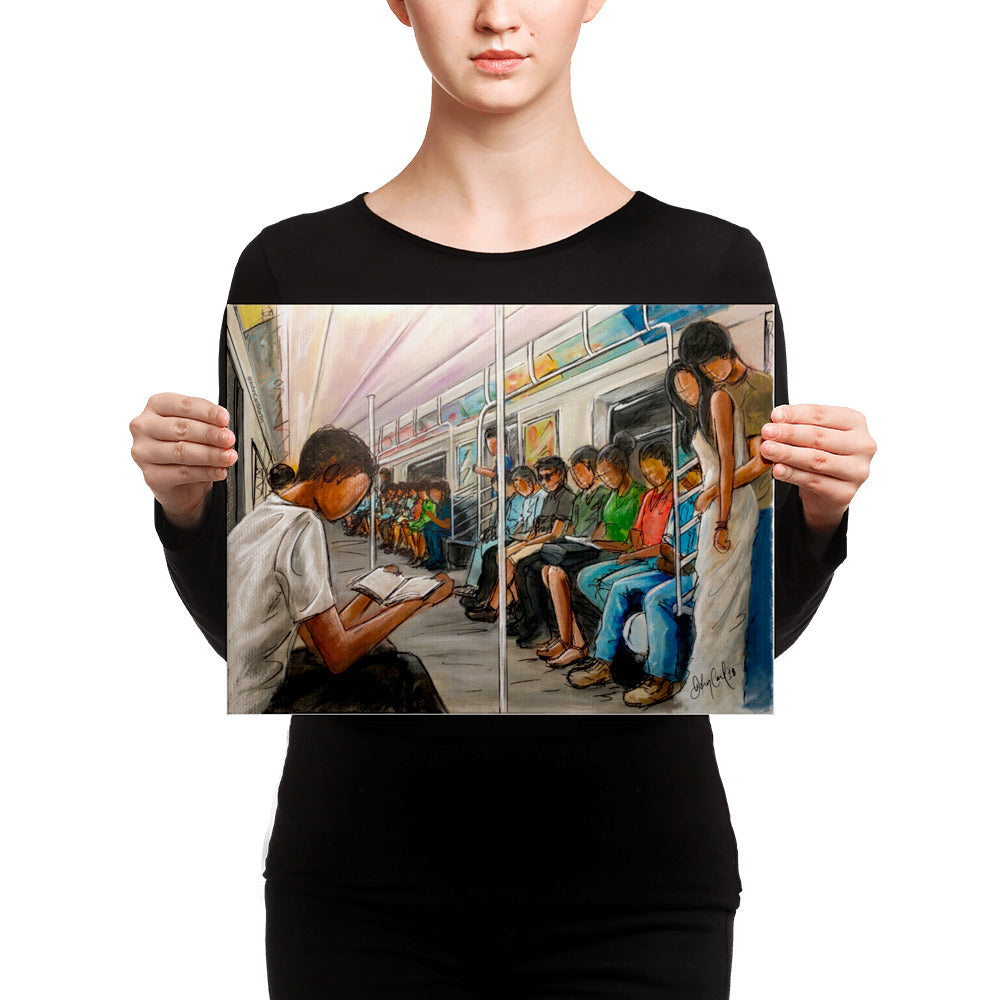 Train Ride Canvas