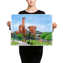 Load image into Gallery viewer, Concrete Plant Canvas