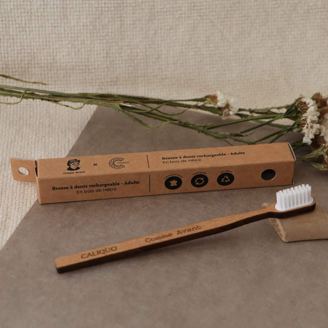 An eco-friendly toothbrush