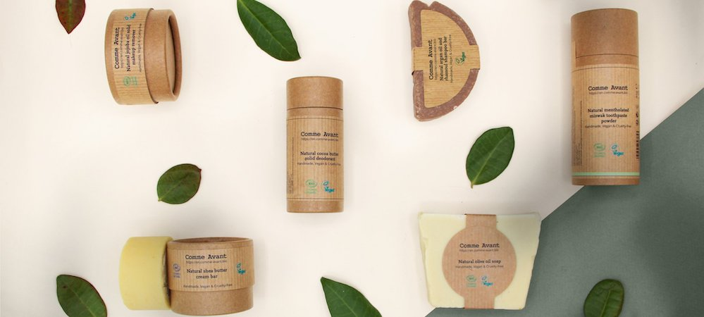 Comme Avant cosmetic products