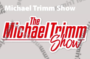 Official Michael Trimm Show Logo Laptop Sticker