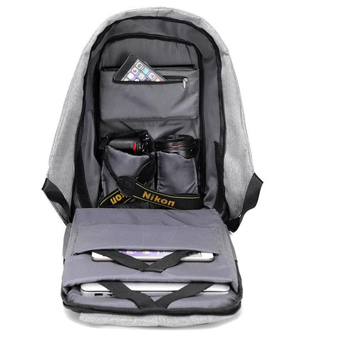 Anti Theft Backpack Inside