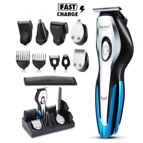 11 in 1 Electric Beard Trimmer Kit For Men Electric Shaver EvoFine
